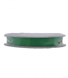 Cinta Satén Doble Cara - 3/4 (6,5cm) - Rollo 25 y 100metros - Color verde esmeralda