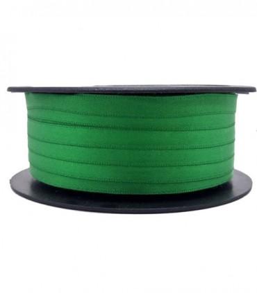 Double Side Satin Ribbon - 3/4 (6,5 cm) - Rolle 25 und 100 Meter - Smaragdgrün