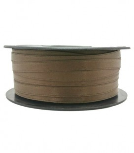 Double Side Satin Ribbon - 3/4 (6.5cm) - Roll 25 and 100metros - Champagne color
