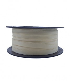 Double Side Satin Ribbon - 3/4 (6,5cm) - Roll 25 and 100metros - Beige color