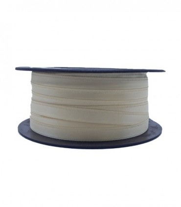 Double Side Satin Ribbon - 3/4 (6,5cm) - Rolle 25 und 100 Meter - Beige Farbe