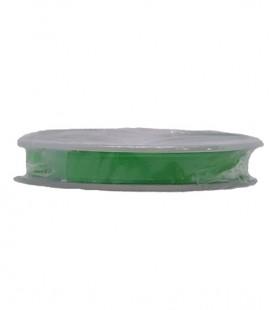 Cinta Satén Doble Cara - 3/4 (6,5cm) - Rollo 25 y 100metros - Color verde andalucia