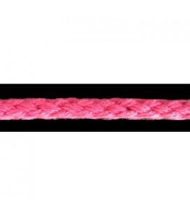 Cordón 100% Algodón - Color Fucsia - Rollo 100m
