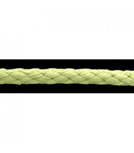 Cordón 100% Algodón - Color Pistacho - Rollo 100m