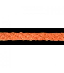 Cordon 100% Coton - Couleur orange - Rouleau 100m