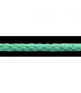 Cordón 100% Algodón - Color Verde Agua - Rollo 100m