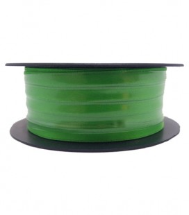 Double Side Satin Ribbon - 3/4 (6,5cm) - Rolle 25 und 100 Meter - Andalusische grüne Farbe