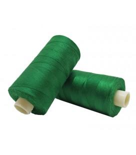 Polyester thread 1000m - Box of 6 pcs. - Emerald Green