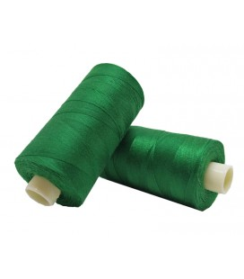 Polyester thread 1000m - Box of 6 pcs. - Emerald Green