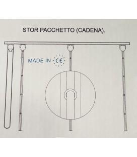 Transparent Roman Rings Tape - Roll 150 meters