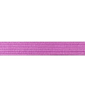 Rubber Braid Elastic - 8mm - Color Lilac - Roll 100 meters