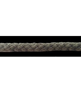 Cordón 100% Algodón - Color Caqui - Rollo 100m