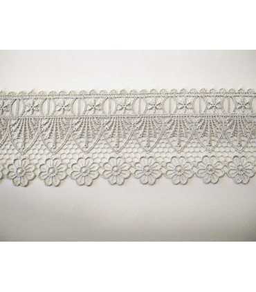 Guipure lace - piece width 7.5 cm - 5 colors - piece of 8.5 meters