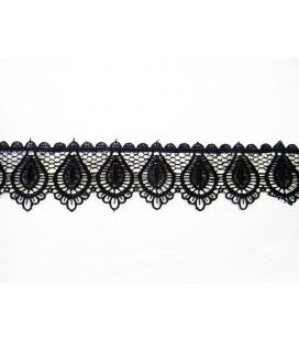 Guipure lace - piece width 5,5 cm - 5 colors - piece of 8.5 meters