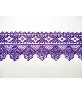Guipure-Spitze - Breite 5,5 cm - 4 Farben - Stück von 8,5 Metern