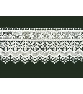 Guipure lace - piece width 10 cm - 4 colors - piece of 8.5 meters
