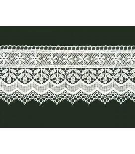 Puntilla de Guipur - Ancho pieza 10cm - 4 Colores - Pieza de 8,5 metros