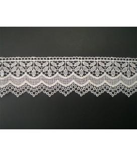Guipure lace - piece width 6,5 cm - 5 colors - piece of 8.5 meters