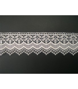Guipure lace - piece width 6,5 cm - 5 colors - piece of 8.5 meters