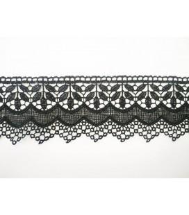 Guipure lace - piece width 6,5 cm - 4 colors - piece of 8.5 meters