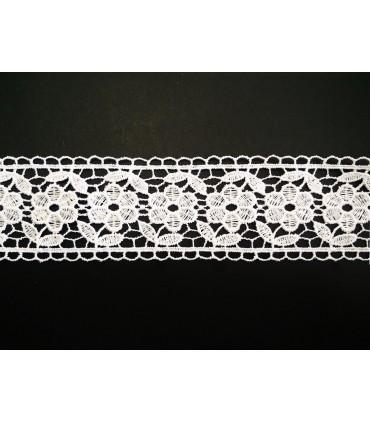 Guipure-Spitze - Breite 4,5 cm - 5 Farben - Stück von 8,5 Metern