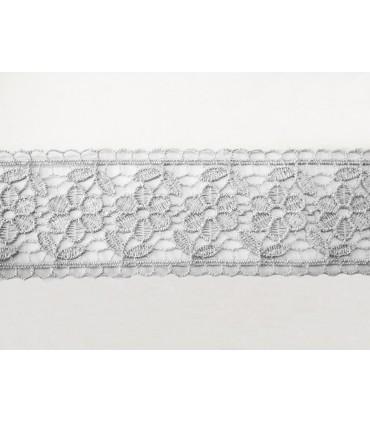 Dentelle de guipure - pièce largeur 4,5 cm - 5 couleurs - pièce de 8,5 mètres
