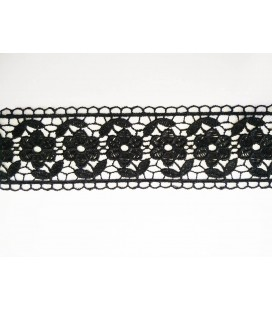 Guipure lace - piece width 4,5 cm - 5 colors - piece of 8.5 meters