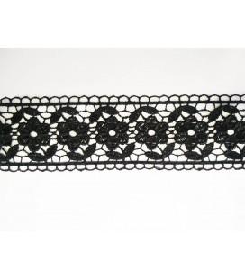 Puntilla de Guipur - Ancho pieza 4,5 cm - 5 Colores - Pieza de 8,5 metros