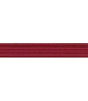 Elastic Braid Rubber - 6mm - Garnet Color - Roll 100 meters