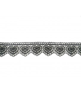 Puntilla de Guipur - Ancho pieza 3 cm - 5 Colores - Pieza de 8,5 metros