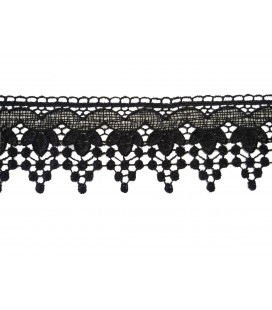 Guipure lace - piece width 6 cm - 5 colors - piece of 8.5 meters