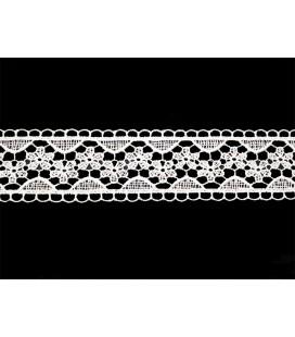 Guipure-Spitze - Breite 3,5 cm - 5 Farben - Stück von 8,5 Metern