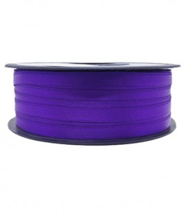 Double Side Satin Ribbon - 3/4 (6.5cm) - Roll 25 and 100metros - Purple color