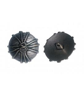Botón Metálico 6257 - 3 tamaños (1,7cm, 2,1cm y 2,5cm)