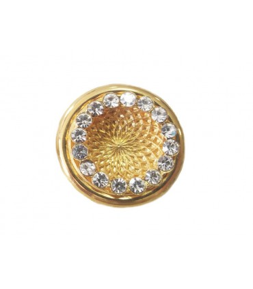 Metallic Button 6254 - 3 sizes (2cm, 2,4cm and 3cm)