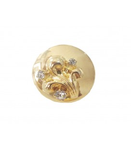 Metallic Button 6239 - 2 sizes (2,2 cm and 2,5 cm)