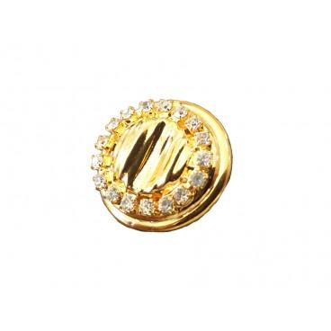 Metallic Button 6234 - 3 sizes (1,7 cm, 2,3 cm and 3 cm