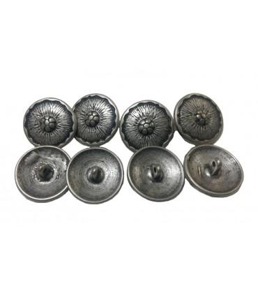 Bouton en métal V6024 - 3 tailles (1,5 cm 1,7 cm et 2,2 cm)
