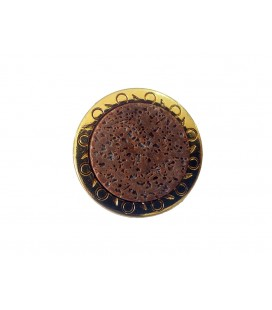 Metal Button BV238 - 3 sizes | 3 colors