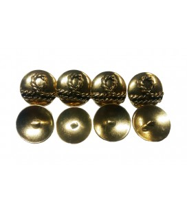 Metal Button 6025 - 3 sizes (1.7 cm 2.2 cm and 2.7 cm)