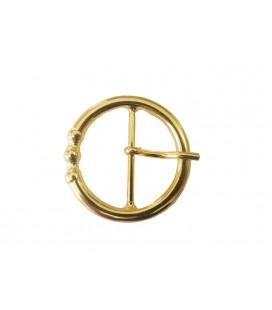 Metallschnalle Gold Farbe - 50mm x 50mm - Beutel mit 6 Einheiten