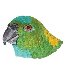 Papagei Thermoadhäsive Sticker - 3 Einheiten
