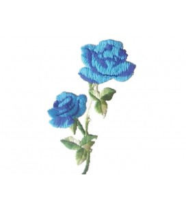 Sticker Thermoadhesive Roses - 6 units - 3 Colors