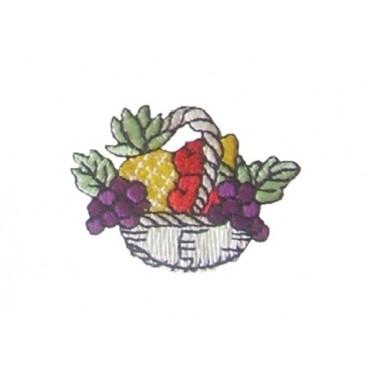 Thermoadhesive Fruit Basket Sticker - 12 units