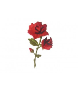 Carnation Thermoadhesive Sticker - 6 Einheiten