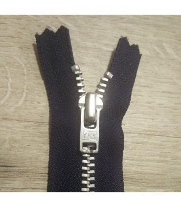 10 unités YKK Metallic Zipper (8 cm) - 2 couleurs