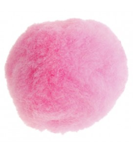 Pompon - Sac 50 pièces - Couleur rose