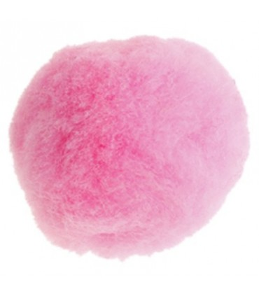 Pom-Pom - Bag 50 pcs. - Pink colour