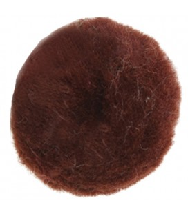 Pom-Pom - Bag 50 pcs. - Brown colour