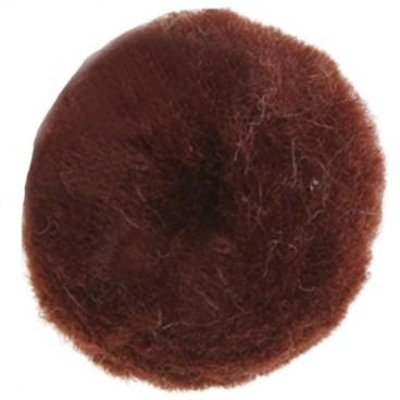 Pom-Pom - Bag 50 pcs. - Brown colour